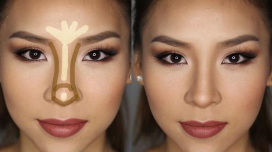 Как с помощью макияжа сделать тонкий нос